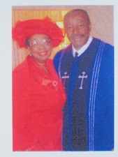 Pastor and Mrs. Joseph Chatten of Resurrection Mission Baptist Church in Berkley